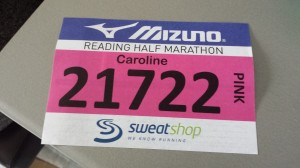 reading half marathon number