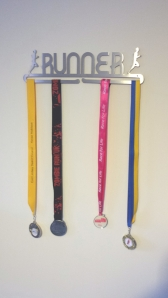 My medals all beautifully displayed